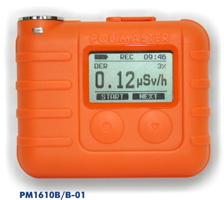 PM1610B personal radiation dosimeter